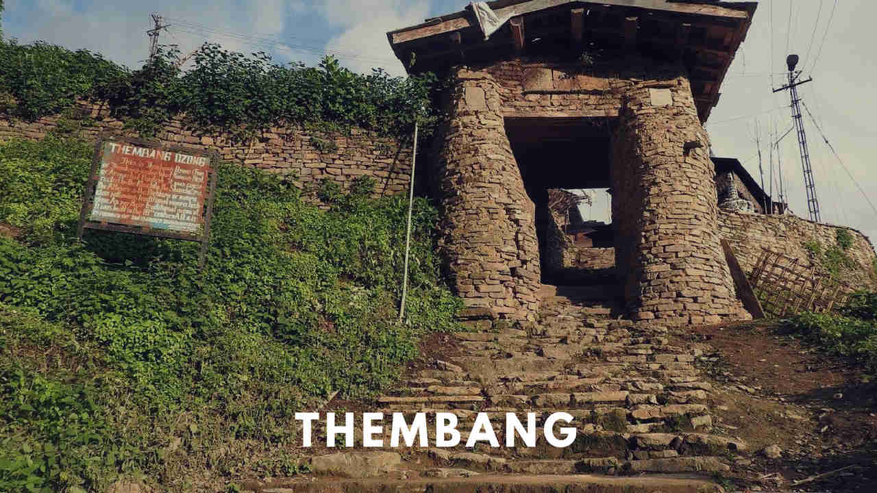 Thembang, UNESCO Heritage village at Arunachal Pradesh