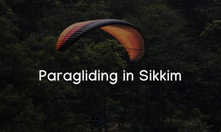Paragliding in Gangtok, Sikkim – fly like a bird