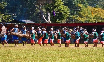 Hundred Drums Wangala Festival of the Garos in Tura, Meghalaya